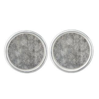 Weathered Grey Cement Sidewalk Cuff Links