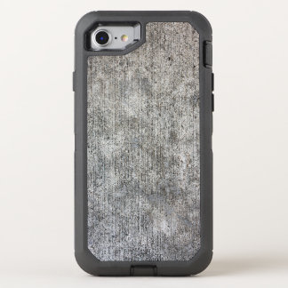 Weathered Grey Cement Sidewalk OtterBox Defender iPhone 7 Case