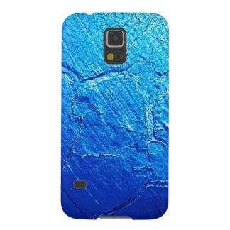 Weathered In Blue Galaxy S5 Cover