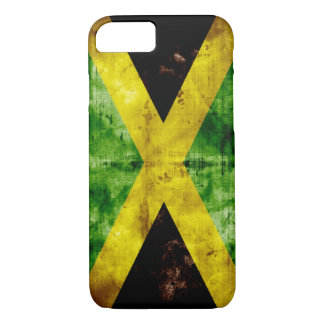 Weathered Jamaica Flag iPhone 7 Case