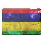 Weathered Mauritius Flag iPad Mini Cases