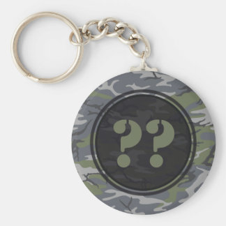 Weathered Outcrop Camouflage Keychain