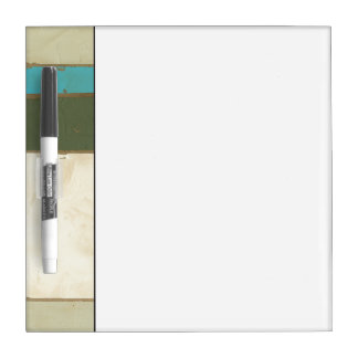 Weathered Panel Painting by Jennifer Goldberger Dry Erase Board