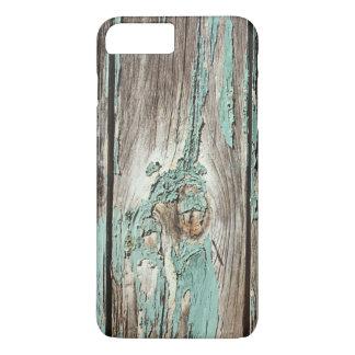Weathered Peeling Teal Board iPhone 8 Plus/7 Plus Case