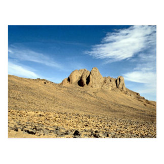 Weathered sandstone rock, Niger Desert Postcard