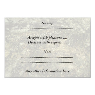 Weathered Stone Effect Design. 9 Cm X 13 Cm Invitation Card