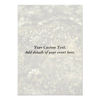 Weathered Stone Effect Design. 5x7 Paper Invitation Card
