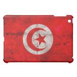 Weathered Tunisia Flag Case For The iPad Mini