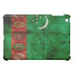 Weathered Turkmenistan Flag iPad Mini Covers