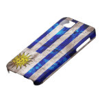 Weathered Uruguay Flag iPhone 5 Cases