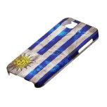 Weathered Uruguay Flag iPhone 5 Cases