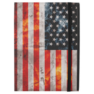"Weathered Vintage American Flag iPad Pro 12.9"" Case"