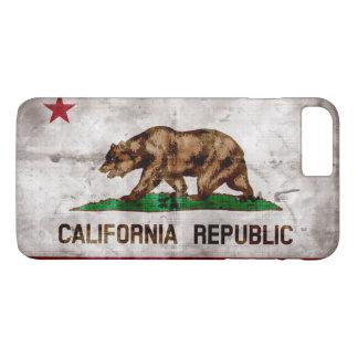 Weathered Vintage California State Flag iPhone 8 Plus/7 Plus Case