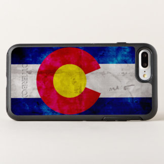 Weathered Vintage Colorado State Flag OtterBox Symmetry iPhone 7 Plus Case