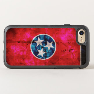 Weathered Vintage Tennessee State Flag OtterBox Symmetry iPhone 8/7 Case