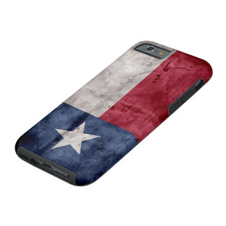 Weathered Vintage Texas State Flag Tough iPhone 6 Case