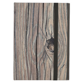 Weathered Wood Background - Customized Case For iPad Air