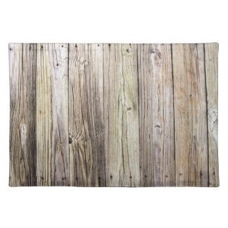 Weathered Wood Boards from a Rustic Country Dock Placemat