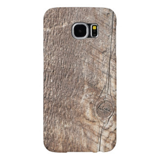Weathered Wood Grain Photo Phone Case