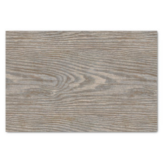 Weathered Wood Texture Tissue Paper