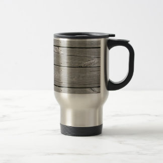 Weathered Wood Travel Mug