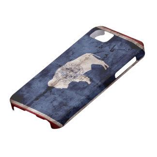 Weathered Wyoming Flag iPhone 5 Case