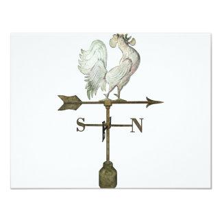 weathervane 11 cm x 14 cm invitation card