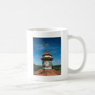 Weathervane and Clock Tower Basic White Mug