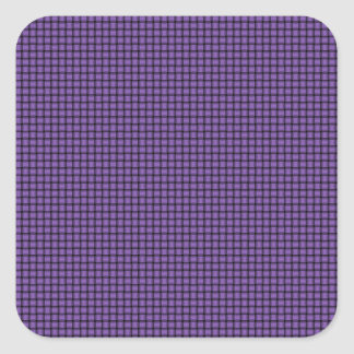 Weave - Amethyst Square Stickers