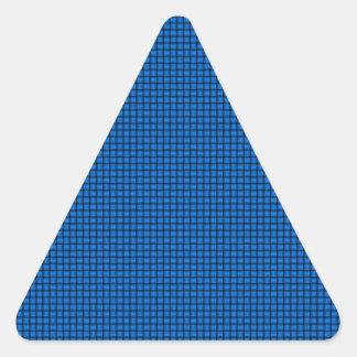 Weave - Azure Triangle Sticker