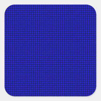 Weave - Blue Square Sticker