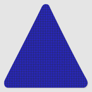 Weave - Blue Triangle Sticker