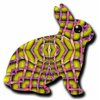 weave bunny cut outs