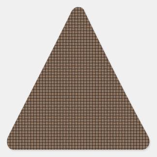 Weave - Cafe au Lait Triangle Sticker