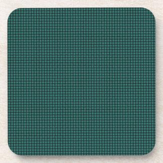 Weave - Celadon Green Beverage Coasters