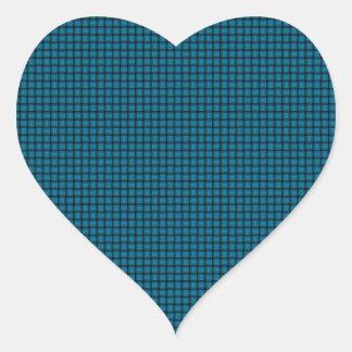 Weave - Cerulean Heart Sticker