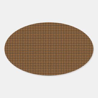 Weave - Copper Stickers