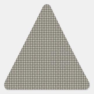 Weave - Eggshell Triangle Sticker