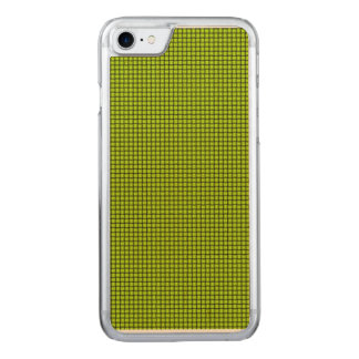 Weave - Fluorescent Yellow Carved iPhone 8/7 Case