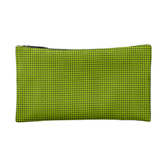 Weave - Fluorescent Yellow Cosmetics Bags