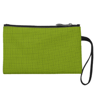 Weave - Fluorescent Yellow Wristlets