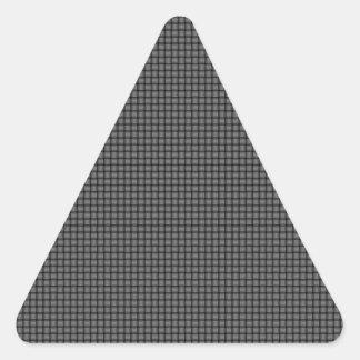 Weave - Gray Triangle Sticker