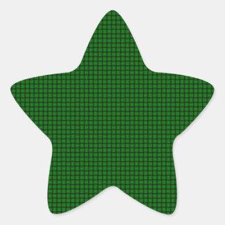Weave - Green Star Sticker
