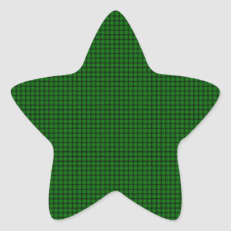 Weave - Green Star Stickers