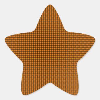 Weave - Orange Star Sticker