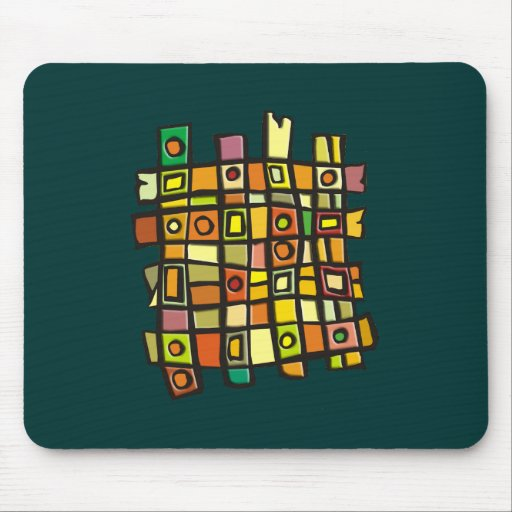 Weave Pattern Mousepads