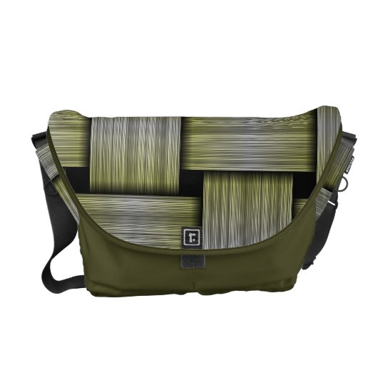 Weave texture courier bags