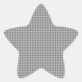 Weave - White Star Sticker