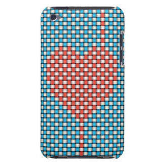 Weaved Heart Barely There iPod Covers