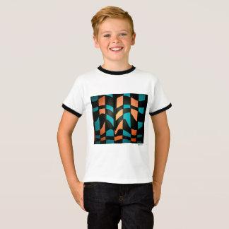 Weaved pattern T-Shirt